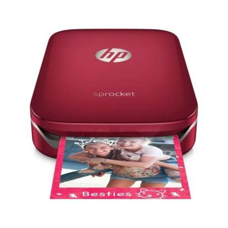 HP Sprocket Zink Rojo
