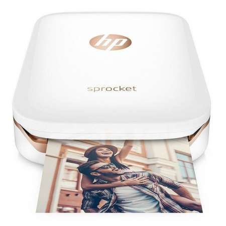 HP Sprocket Zink Impresora Fotográfica Portátil Blanca