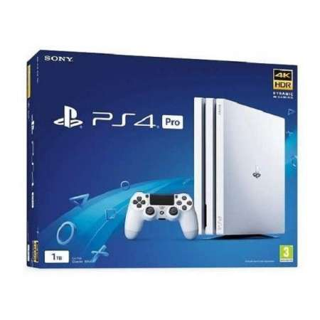 Sony PS4 PlayStation 4 Pro 1TB Blanca