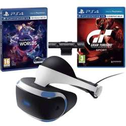 Pack Playstation VR + Playstation Camera + VR Worlds