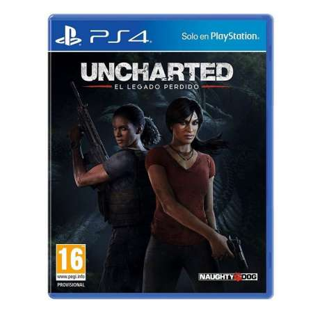Uncharted El Legado Perdido PS4
