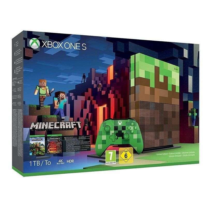 07c10ea32dc1f Microsoft Xbox One S 1TB + Minecraft Edición Limitada - Tienda CPU