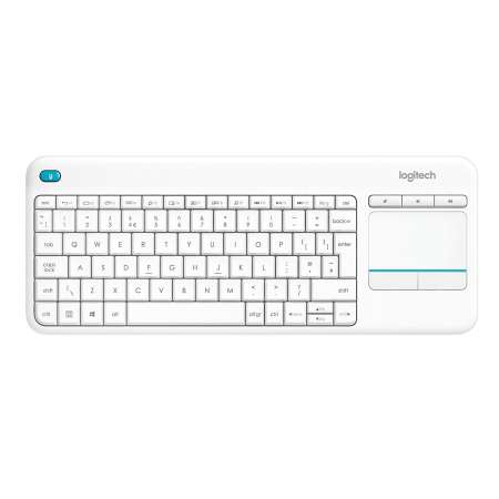 Teclado / raton Logitech K400 PLUS TV Blanco