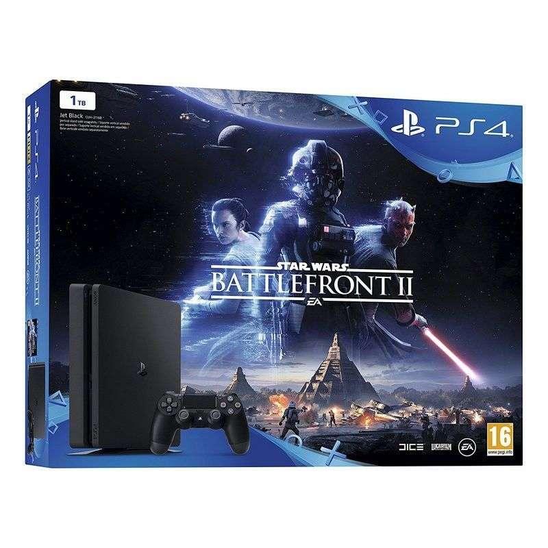 Sony PlayStation 4 Slim 1TB + Star Wars Battlefront II