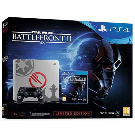 Sony PS4 PlayStation 4 Slim 1TB Ed. Especial Star Wars Battlefront II
