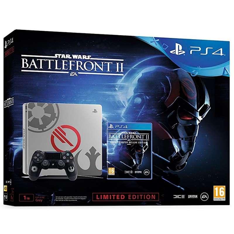 Sony PlayStation 4 Slim 1TB Edicion Especial + Star Wars Battlefront II