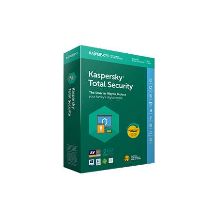 Kaspersky Total Security Multi-Device 5 Dispositivos