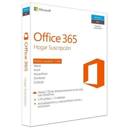 Microsoft Office 365 Hogar 1 Año