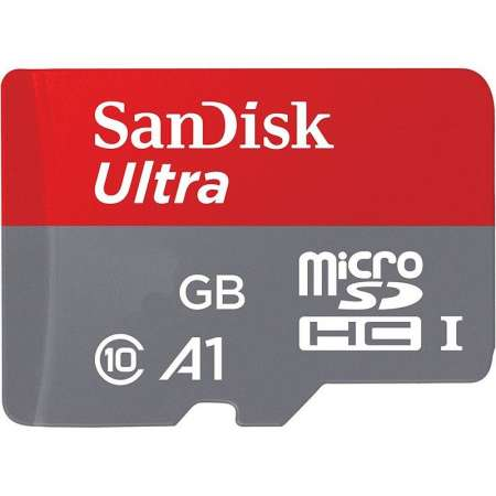 Sandisk Ultra A1 200GB MicroSDHC UHS-1 Clase 10 + Adaptador