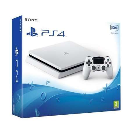 Sony PlayStation 4 Slim 500GB Blanco