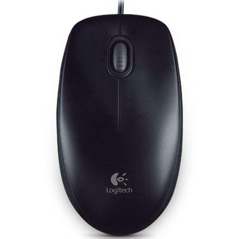 Logitech B100 Ratón Negro