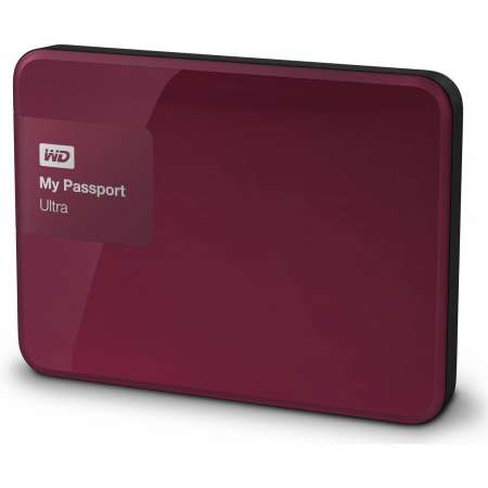 "WD My Passport Ultra 1TB 2.5"" USB 3.0 Rojo"