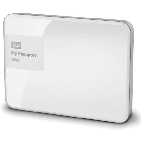 "WD My Passport Ultra 1TB 2.5"" USB 3.0 Blanco"