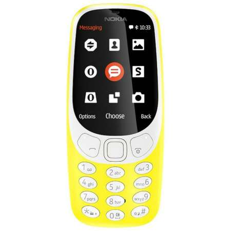 Nokia 3310 3G Dual Sim Amarillo