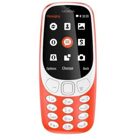 Nokia 3310 2G Dual Sim Rojo
