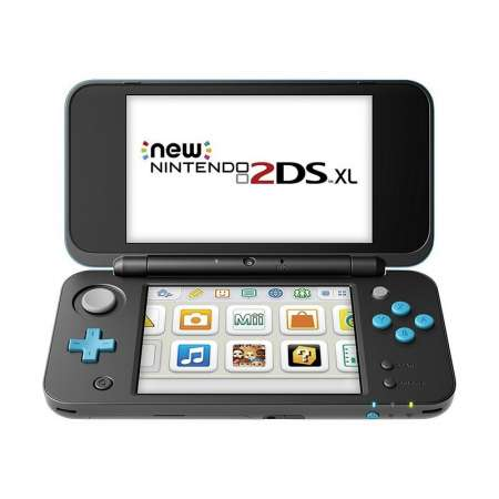 Nintendo New 2DS XL Negra/Turquesa