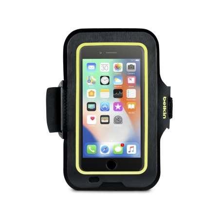 Brazalete deportivo Belkin Sport-Fit para Iphone 8/7/6/6s Negro