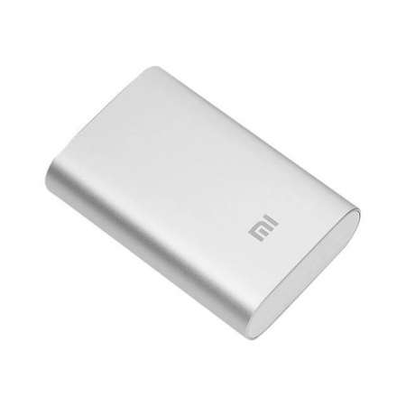 Batería Externa Xiaomi Mi 2 10000 mAh Plata