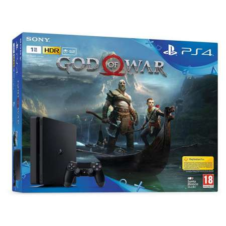 Sony PS4 PlayStation 4 Slim 1TB + God of War