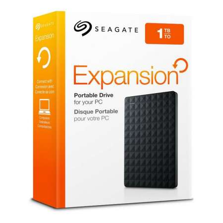 "Seagate Expansion 1TB 2.5"" USB 3.0 Negro"