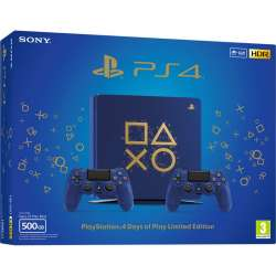Sony Playstation 4 500Gb Edición Days of Play + 2 Dualshock 4