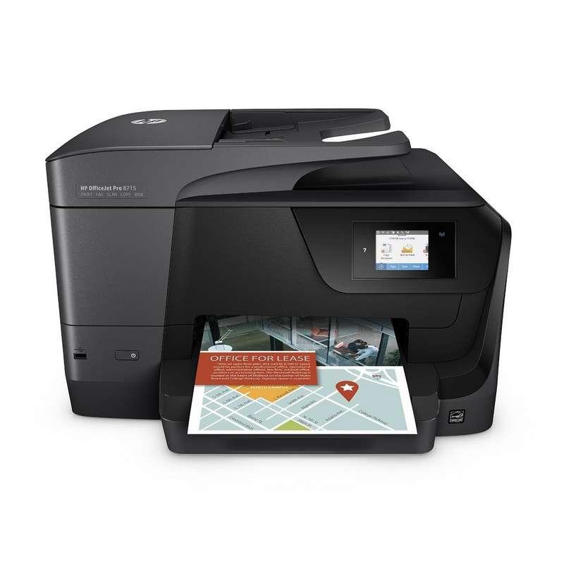 HP Officejet Pro 8715 Multifunción Color Wifi Fax Dúplex