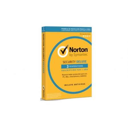 Antivirus Norton Security Deluxe 3 Dispositivos