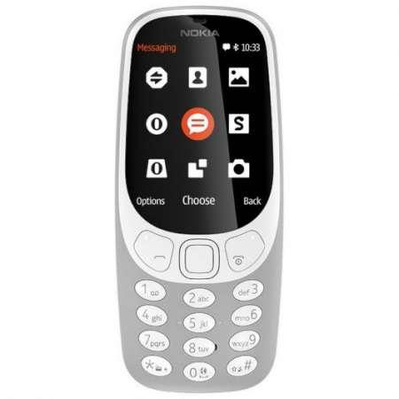 Nokia 3310 2G Dual Sim Gris