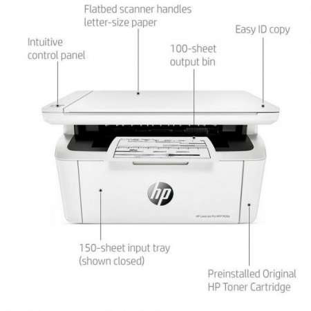 HP LaserJet Pro M28a MFP Multifunción Láser