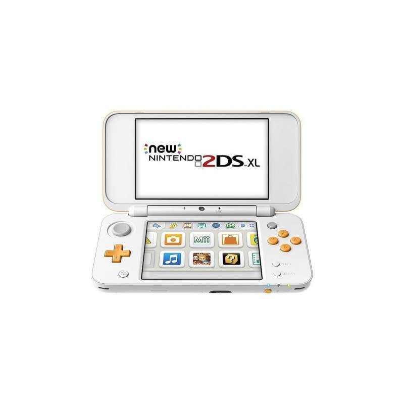 Nintendo New 2DS XL Blanco/Naranja