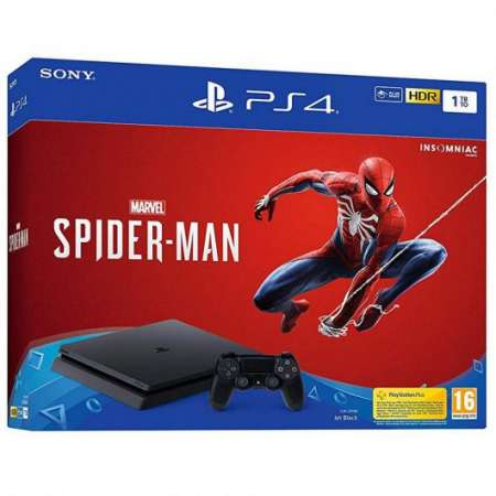 PlayStation 4 Slim 1TB + Spider-Man