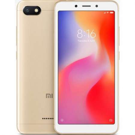 Xiaomi Redmi 6A 2/16GB Dual Sim Dorado