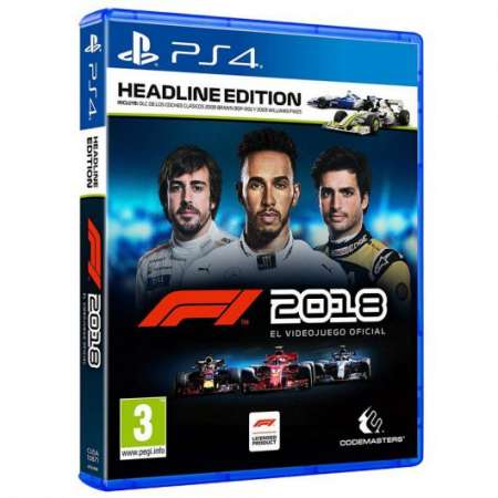Formula 1 2018 Headline Edition PS4