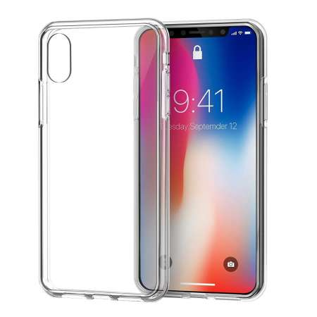 Funda Silicona Apple Iphone X Transparente