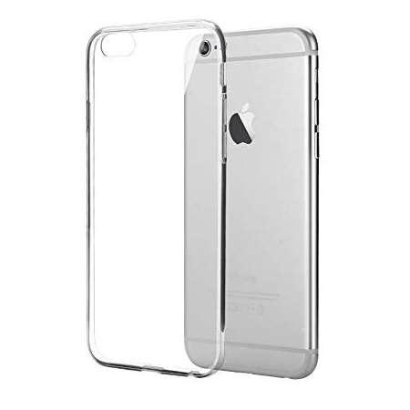 Funda Silicona Apple Iphone 6 Transparente