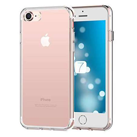 Funda Silicona Apple Iphone 8 Transparente