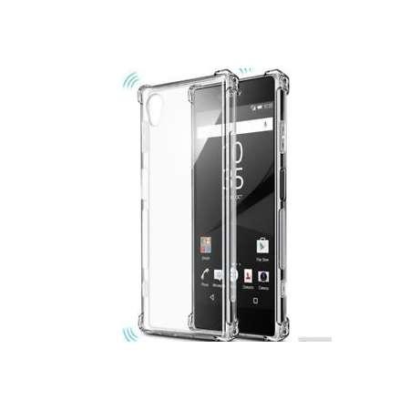 Funda Silicona Sony Xperia XA1 Transparente