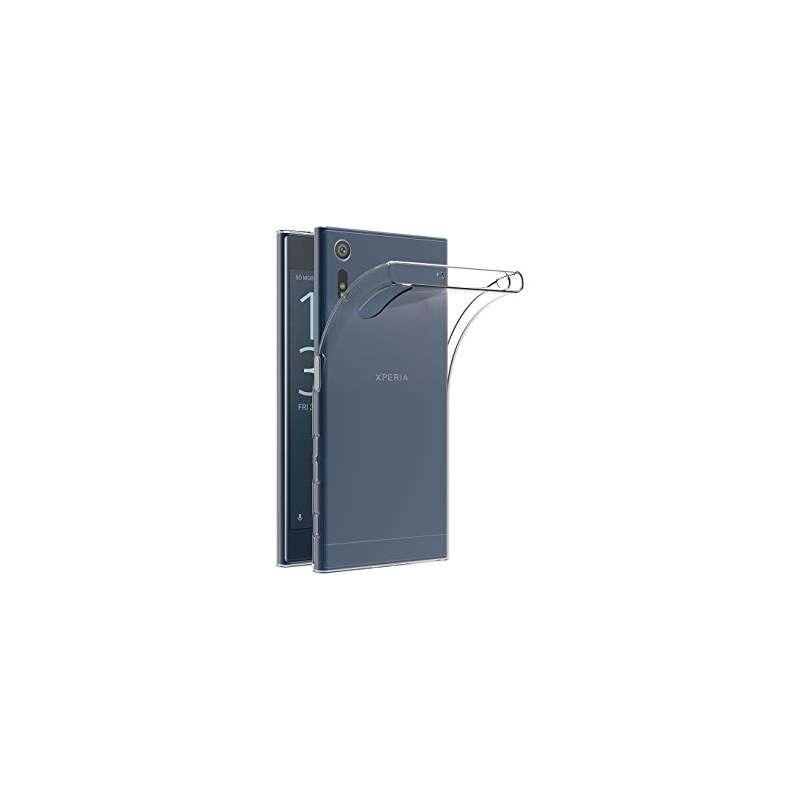 Funda Silicona Sony Xperia XZ Premium Transparente