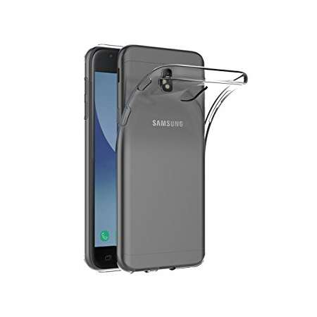Funda Silicona Samsung Galaxy J3 2017 Transparente