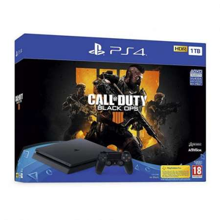 Sony PS4 PlayStation 4 Slim 1TB + Call Of Duty Black Ops 4