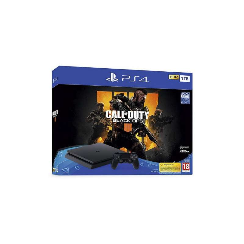 Sony PlayStation 4 Slim 1TB + Call Of Duty Black Ops 4
