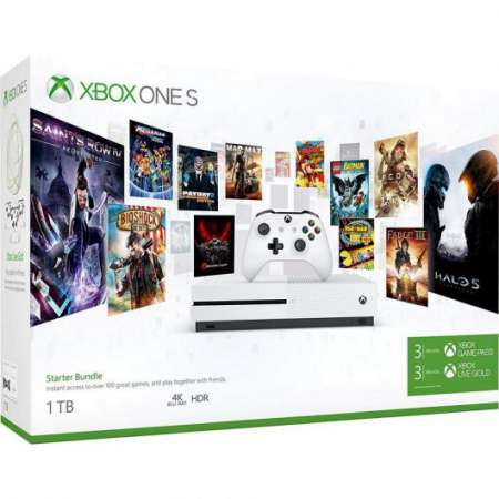 Microsoft Xbox One S 1TB + Pack Starter