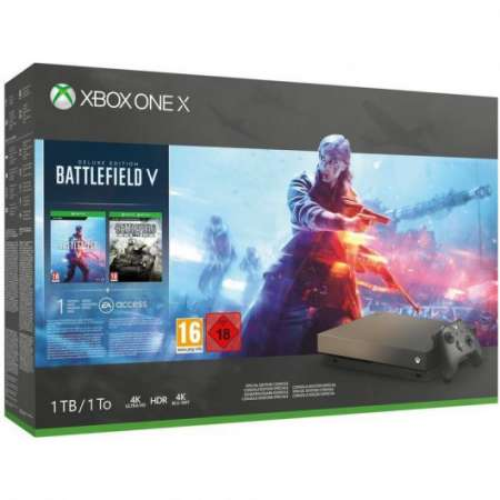 Microsoft Xbox One X + Battlefield V