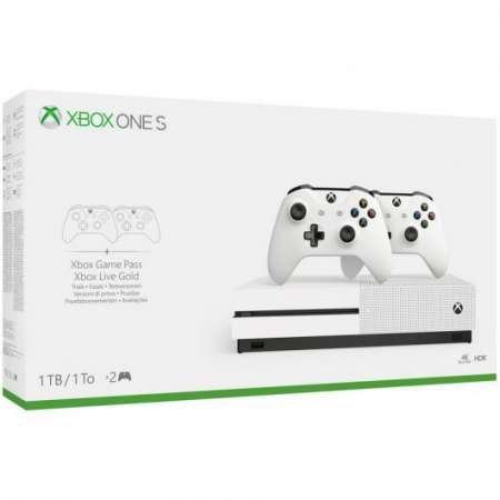 Microsoft Xbox One S 1TB + 2 Mando Wireless