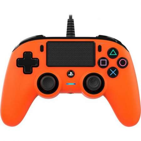 Nacon Compact Controller Wired PS4 Naranja