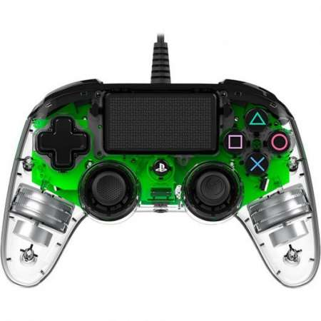 Nacon Compact Controller Wired PS4 Iluminado Verde