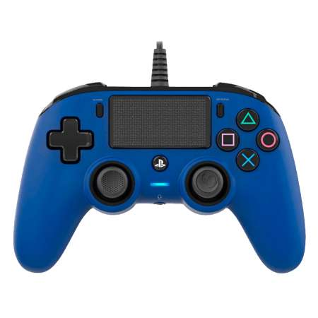 Nacon Compact Controller Wired PS4 Azul