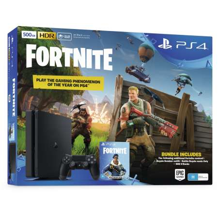Sony PS4 PlayStation 4 Slim 500GB + Fornite