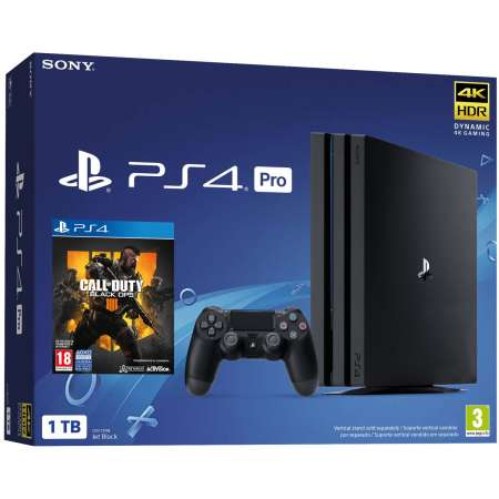 Sony PS4 PlayStation 4 Pro 1TB + Call Of Duty Black Ops 4