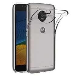 Funda Silicona Motorola Moto G5S Transparente